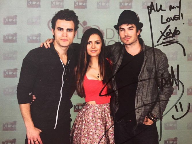 Wilder Book and Ian Somerhalder Signed Picture Giveaway!