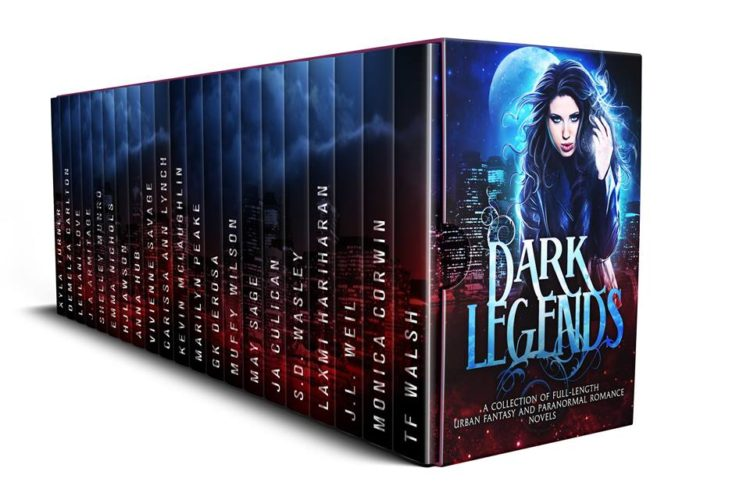 Dark Legends Author Spotlight - H.J. Lawson with New Order