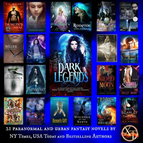 Dark Legends Author Spotlight - Emma Nichols with Blood Moon